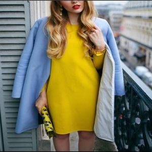 🔵Elizabeth & James Dijon Mustard Open Back Dress